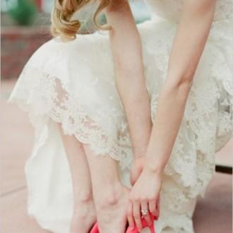 Renkli Gelin Ayakkabıları