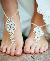 Sahil Düğünleri İçin Gelin Ayakkabısı