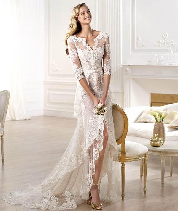 Düğün Hayalleri Zarif Sade şık Gelinlik Modelleri 1