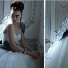 Atelier Aimee 2015 Siyah Beyaz Gelinlik Modelleri