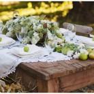 Düğünde Yemek Masaları Dizaynı