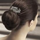 Gelin Saçına Işıltılı Saç Tokaları