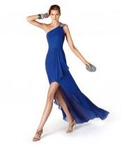 Mavi Nişan Elbiseleri