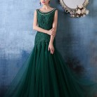 Yeşil Nişan Elbiseleri