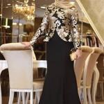 Tesettür Nişan Elbiseleri-2