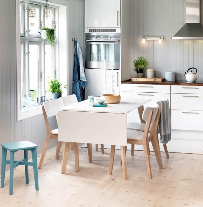 Nordkapp kjøkkenbord 120 cm