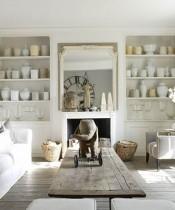 Beyaz ve Country Temalı Ev Dekorasyonu