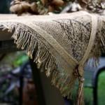 Çuval Kumaşından Masa Takımları